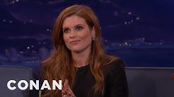 Oakland A's Fans Chanted Mean Things About JoAnna Garcia Swisher  - CONAN on TBS