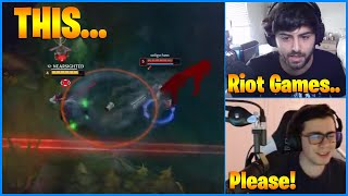 Thanks Riot Games For These Hitbox...LoL Daily Moments Ep 1093