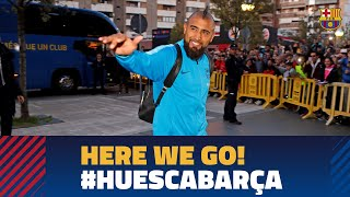 Trip to Huesca ahead of LaLiga match