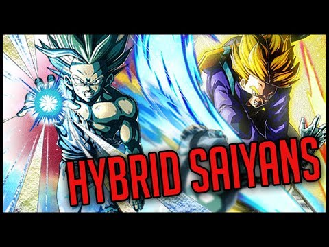 LR TRUNKS AWAKENS! LR Gohan & Trunks Global HYBRID SAIYAN Team! | Dragon Ball Z Dokkan Battle!