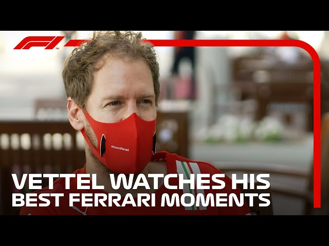 Sebastian Vettel Looks Back On His Best Ferrari Moments