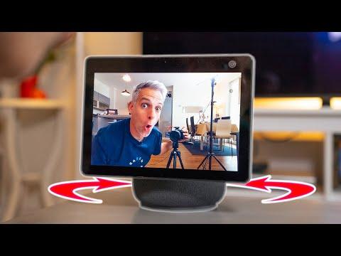 L'INCROYABLE Ecran Pivotant d'Amazon (qui suit votre Visage) - Echo Show 10