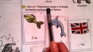 5 урок-Letter Blends! Буквосочетания th и ph. Английский язык по школьной программе.