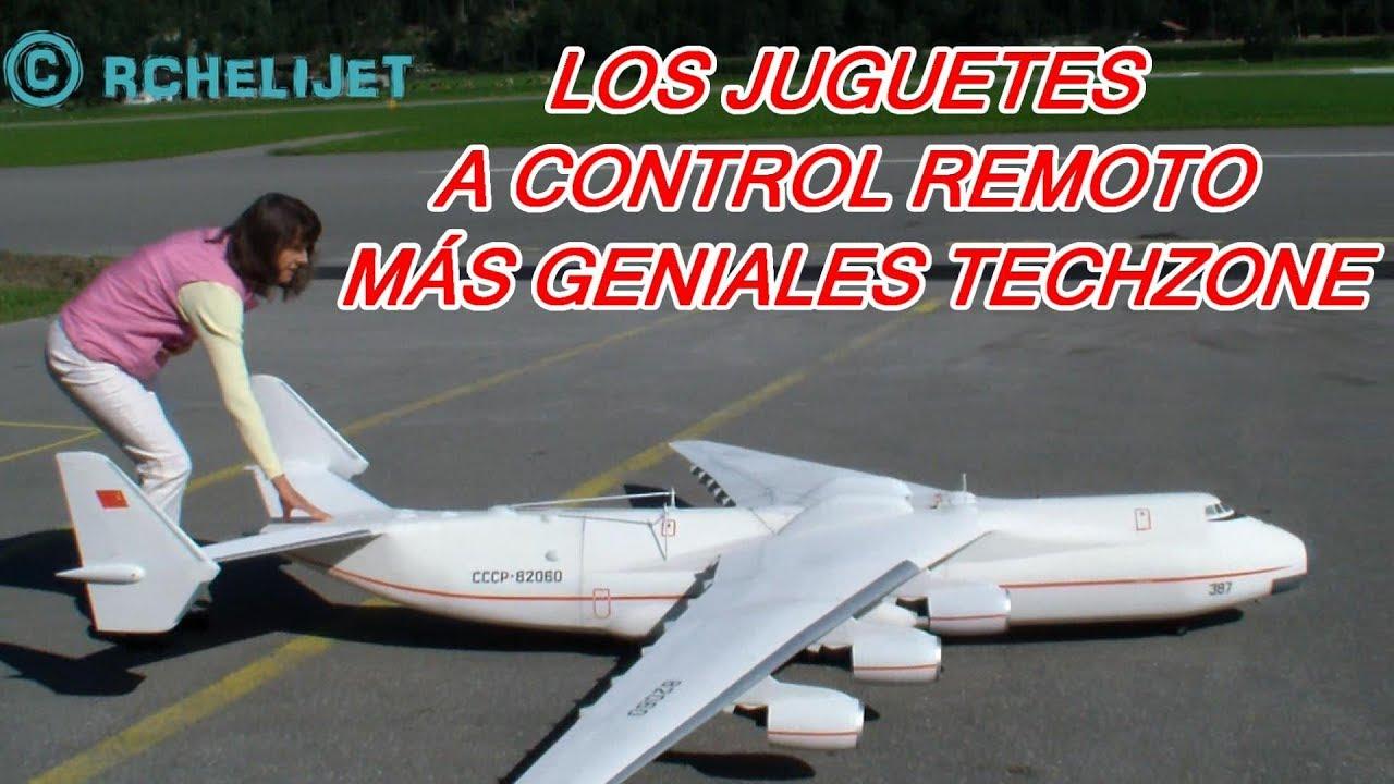 LOS JUGUETES A CONTROL REMOTO MÁS GENIALES TECHZONE