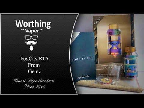 Fogcity RTA by Gemz   Should it be classed as a Dodo
