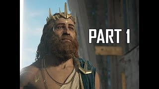ASSASSIN'S CREED ODYSSEY Judgement of Atlantis Walkthrough Part 1 - Poseidon