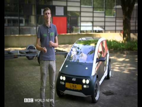 """BBC NEWS : """" LINA""""..SIMPLER  AND  BEAUTIFUL CAR"""
