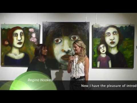 "Intervista Regina Noakes ""New Perspectives"" Galleria360 2016"