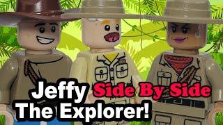 Lego SML: Jeffy The Explorer! (Side By Side)