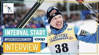 "Iivo Niskanen | ""A really nice day for me"" | Men's 15 km. | Lahti | FIS Cross Country"