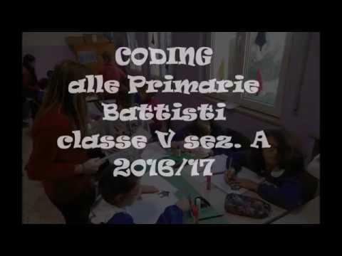 CODING  - Classe V sez A - Scuola Primaria Battisti - Martinsicuro
