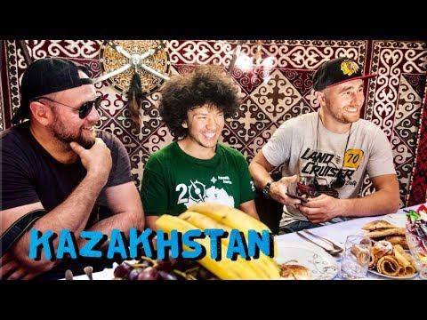 Kazakhstan. Национальная кухня, древний город Отрар. Автомобильное путешествие по Казахстану, часть9