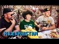 Kazakhstan. Национальная кухня, древний город Отрар. Еда в путешествии по Казахстану, часть8
