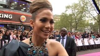 Jennifer Lopez unveils The Back-Up Plan in London
