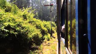 Nilgiri Mountain Railway: Departure from Wellington