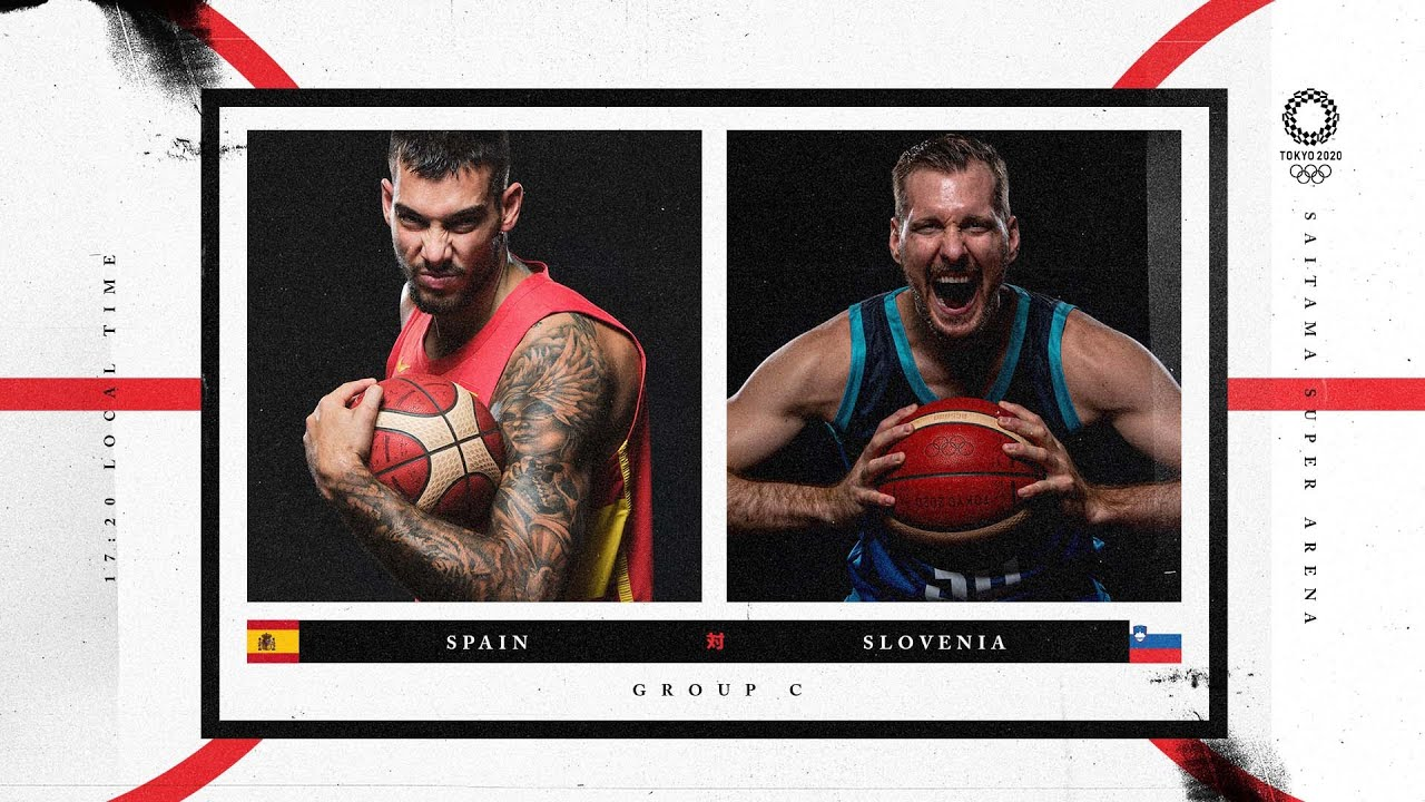 Spain v Slovenia - Watch along party | #Tokyo2020 ⚡ #Basketball