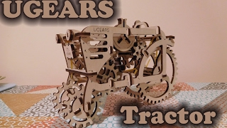 Review of UGEARS Wooden Tractor Kit