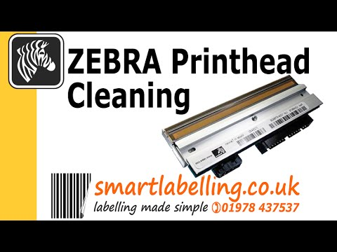 Zebra Printhead Cleaning and Maintenance