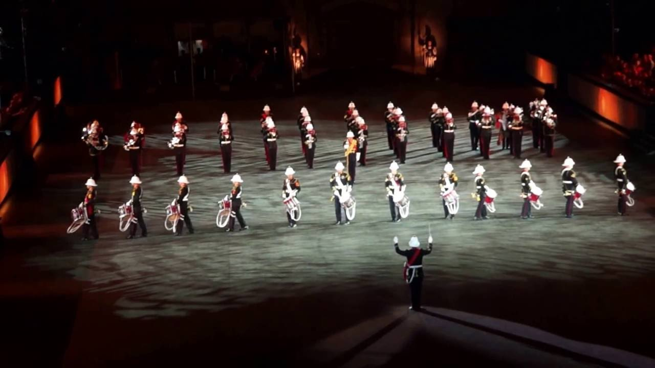 the band of hm royal marines basel tattoo 2016 full show