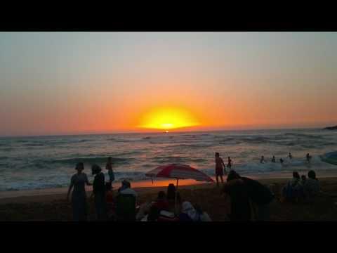 Sun set in the beach  (Algeria's beauty )