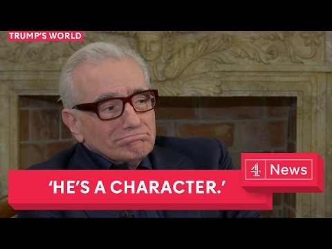Martin Scorsese Interview on Trump and the Pope