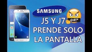Samsung J5 prende y apaga la pantalla solo (Solución), Problema botón home