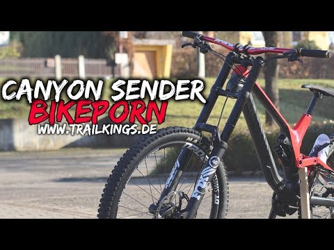 Bikeporn Canyon Sender 2019 | FOX40 FOX FloatX2 SAINT | www.TRAILKINGS.de from YouTube · Duration:  2 minutes 38 seconds