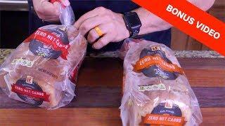 Zero Carb Bread - Internet Sensation ($2.99 at Aldi's)