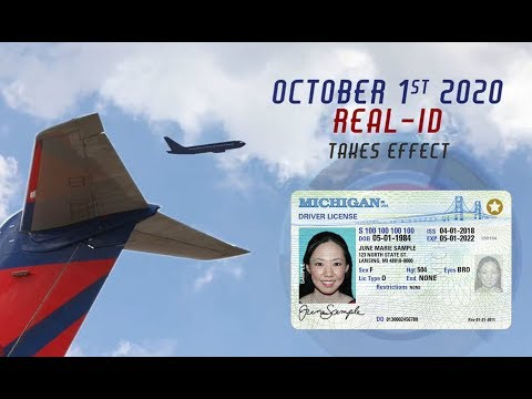 What Michigan Residents Need To Know About Real ID