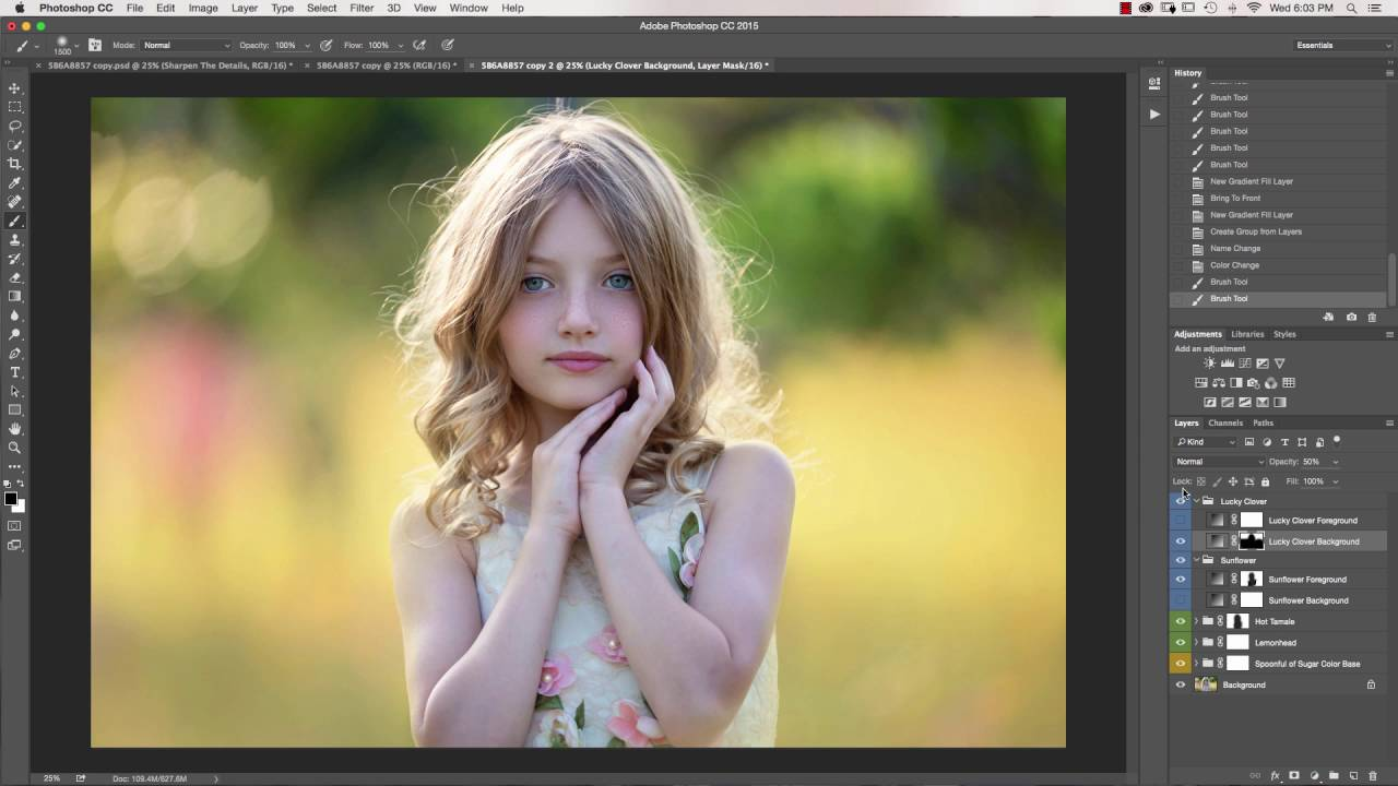 The Innocence Collection Photoshop Actions