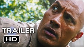 Jumanji 2: Welcome to the Jungle Official Trailer #1 (2017) Dwayne Johnson, Kevin Hart Movie HD