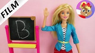 Barbie Film polski | Szalony pierwszy dzień w szkole! Barbie nauczycielka zachwycona nową uczennicą!