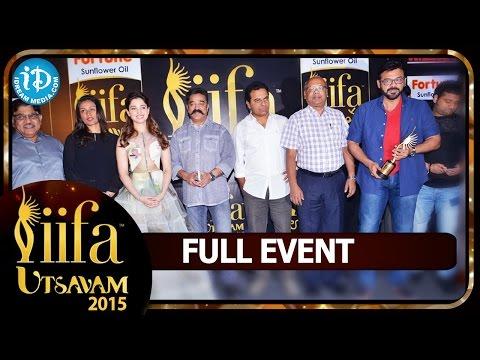 IIFA Utsavam 2015 - Full Event || Nagarjuna, Venkatesh, Kamal Haasan, Tamannaah