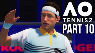AO TENNIS 2 Career Mode Part 10 - TOP 50