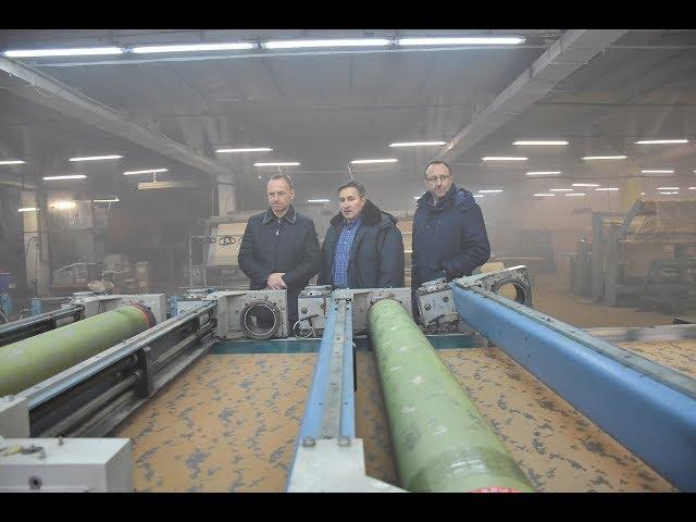 Основатель компании Текстиль-Контакт Александр Соколовский представил новое производство в Чернигове