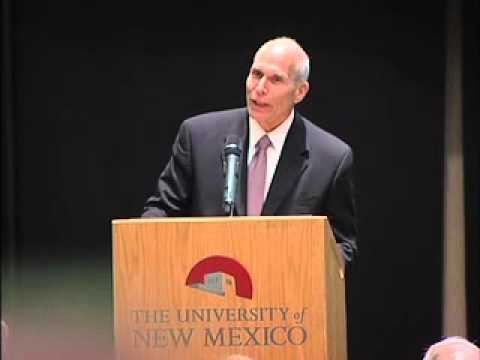Paul Roth Speaks at the UNM Economic Development Summit