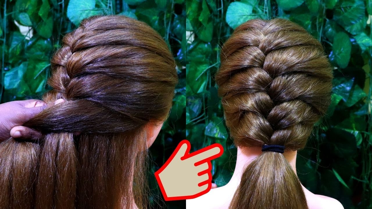French Braid hairstyle for Beginners/How to make french braid/hairstyles | KGS Hairstyles
