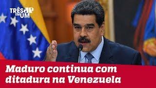 Nicolás Maduro continua com sua ditadura na Venezuela até 2025