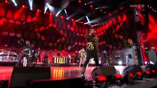 The black eyed peas live at fifa world cup 2010 on south africa. full performance. songs performed: where is love, pump it, meet me halfway, boom po...