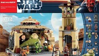 Обзор на лего звёздные войны Jabba's Palace 9516