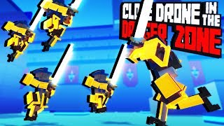 Armor Challenge! - Clone Drone in the Danger Zone Gameplay