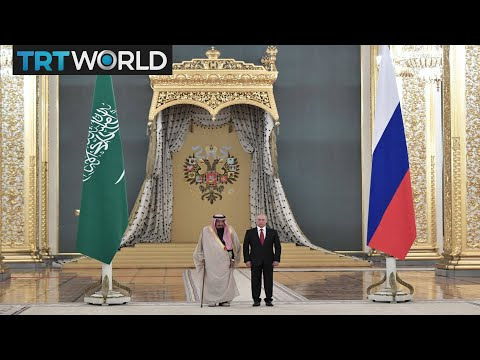 Money Talks: Saudi King Salman in 'historic' visit to Moscow
