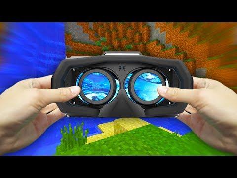 REALISTIC MINECRAFT - VIRTUAL REALITY! (VR)