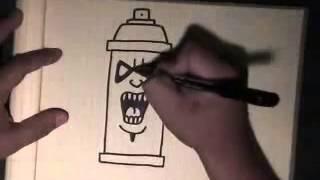 Como Desenhar um Spray Radical