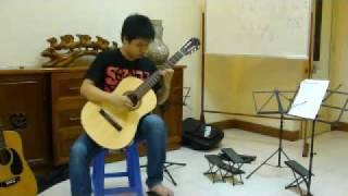 [Lớp học Guitar cổ điển] Vũ Ngọc Tiến (2-month Student)