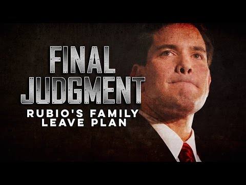 Marco Rubio's Family Leave Plan Is Missing Something Important
