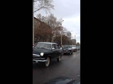 Парад ретро автомобилей в Москве 2015 Parade of vintage cars in Moscow in 2015