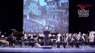 "The Desert Winds presented ""Solemnitas"" on February 28, 2015 as par..."