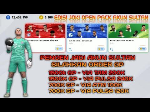 Edisi Joki Open Pack Akun Sultan - eFootball Pes 2020 Mobile - 동영상