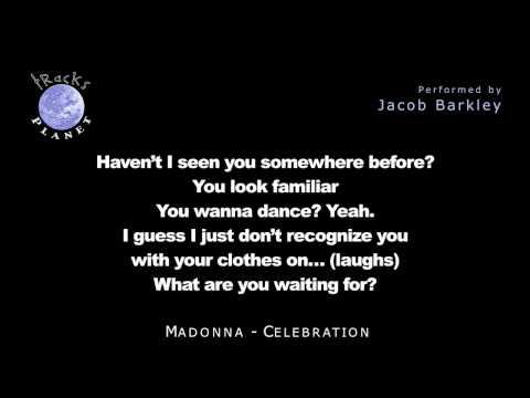Madonna Celebration karaoke